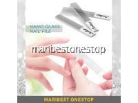NANO GLASS NAIL FILE Nail Shiner Professional Crystal Manicure Tools Kit for Natural Nails