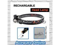 RECHARGEABLE HEAD LAMP MULTI FUNCTIONAL POWERFUL WATERPROOF LED HEADLAMP USB RECHARGABLE HEAD TORCH HEAD LIGHT