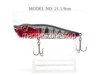 FISHING LURE FLOATING SIMULATION BAIT WITH HOOK 4.5CM/ 9CM Crankbaits Wobblers Lures Topwater Artificial Hard  Baits Wobblers
