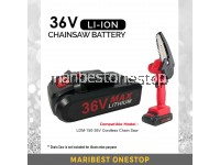 36V BATTERY ONLY FOR MINI CORDLESS CHAINSAW LDM-150-36V LI-ON BATTERY DURABLE EASY TO INSTALL 1PC BATTERY ONLY