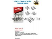 5 PACKS X MAKITA N1900 PLANNER BLADE