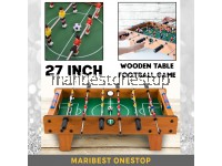 27 Inch Wooden Soccer Table Game Football Tabletop Football Indoor Game Kids Family Toy Permainan Bola Sepak